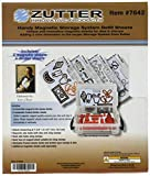 Zutter Magnetic Storage System Refill Sheets, White