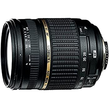 Tamron AF28-300mm A20 F/3.5-6.3 XR Di VC Macro Zoom Lens with Built in Motor for Nikon Digital SLR Cameras Aspherical Black