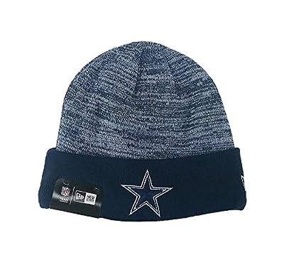 New Era NFL Hat Dallas Cowboys Team Headwear Rapid Navy Blue Knit Beanie
