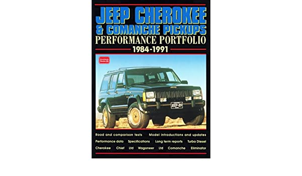 Jeep Cherokee and Comanche Pickups, 1984-91 Performance Portfolio: Amazon.es: R. M. Clarke: Libros en idiomas extranjeros