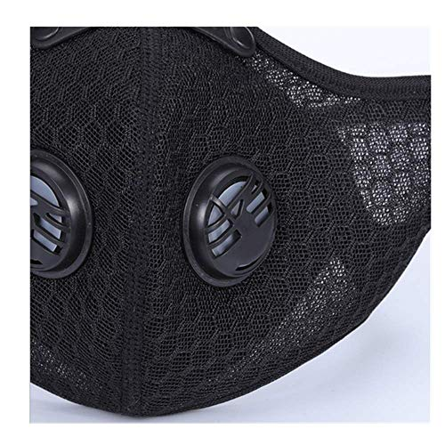 Sports Adjustable Earloop Face Anti-dust Face Mask,Cycling Activated Carbon N95 Pollution Fase Mask,Face Veil,Face Cover
