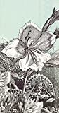 Ideal Home Range Fleur 3-Ply Paper Guest Towels/Banquet Napkins, 16-Count, Mint