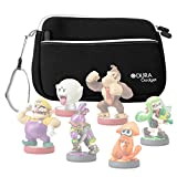 Small Storage Bag / Carrying Case for Nintendo Amiibo Figures (Wii U / 3DS / Nintendo Switch - by DURAGADGET