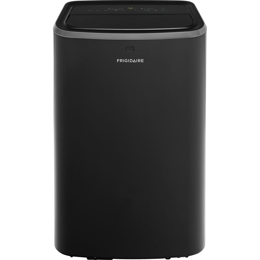 Frigidaire FFPH1222U1Portable Rooms up to 550-Sq. Ft. Air Conditioner 12,000 BTU Black