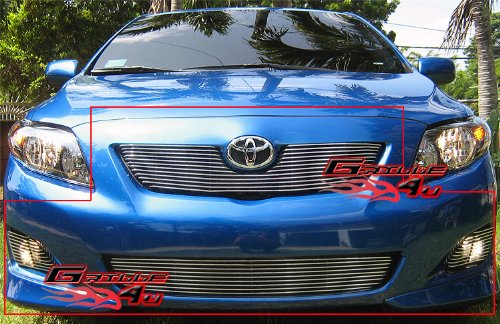 (APS Fits 09-10 Toyota Corolla Main Upper Billet Grille Insert #T66602A)