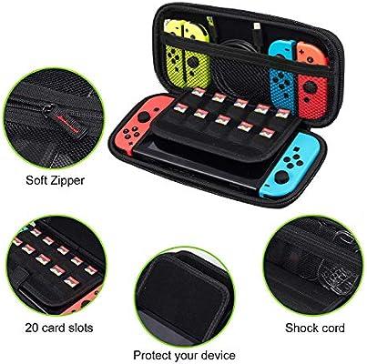 eSynic 19 en 1 Kit Accesorios para Nintendo Switch Funda para ...
