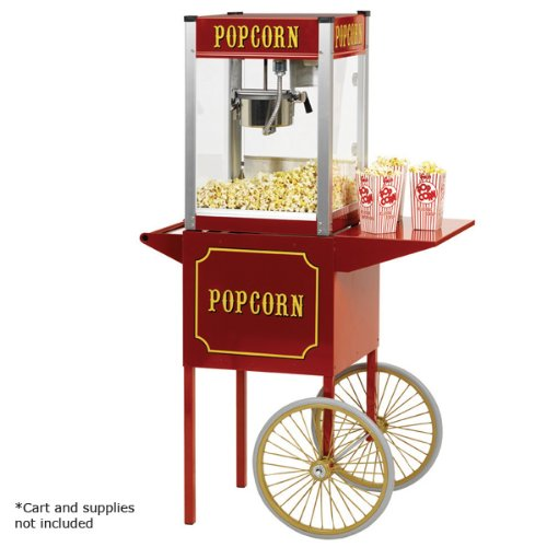 Paragon Theater Pop 4 Ounce Popcorn Machine for Professional Concessionaires Requiring Commercial Quality High Output Popcorn Equipment