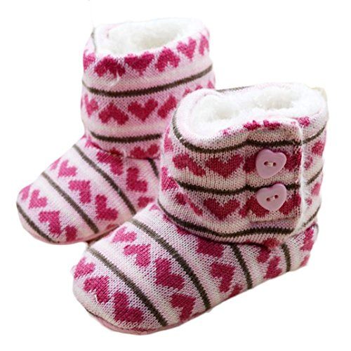 AMATM-Toddler-Baby-Girls-Winter-Snow-Boots-Soft-Sole-Prewalker-Crib-Shoes