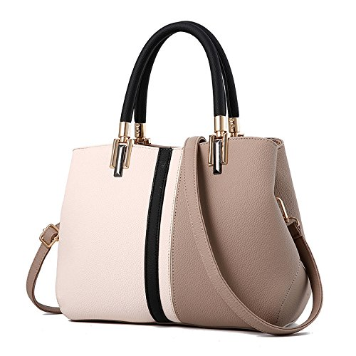 Tide New Wild Women's Hit Bags Bags Handbags khaki Bag XIAOLONGY Fashion Messenger Korean Women's Shoulder Color Simple Big Bag 08Efw