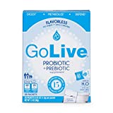 Golive Probiotic and Prebiotic Supplement Blend, Flavorless, 28-Count