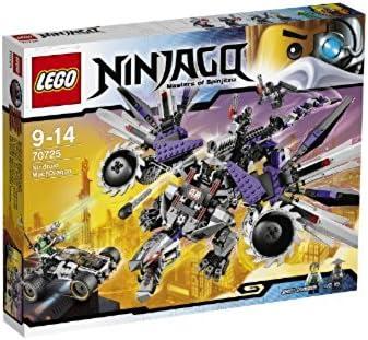 LEGO Ninjago Nindroid MechDragon and Nya's Car with 5 Minifigures Set | 70725