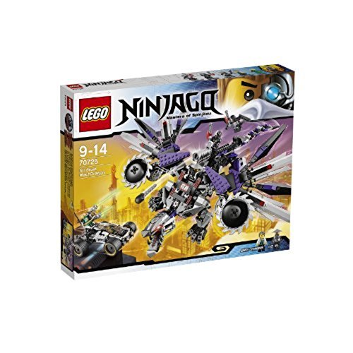 LEGO Ninjago Nindroid MechDragon and Nya's Car with 5 Minifigures Set | 70725 (Lego Sets Ninjago 2014)
