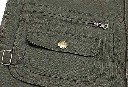 Uomini Sottile Cotone Pocket Gilet Colour Età Vest Di In Mezza Clip Essenziale Outdoor Multi 1 Estate Pesca Horse wSd0qw