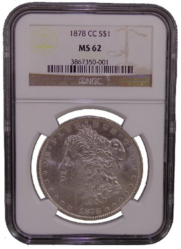 1878 CC Morgan Dollar NGC MS-62
