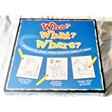 Who What Where Game by JNH