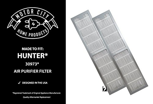 Motor City Home Products Hunter 30973 Compatible Air Purifier Filter, Brand Replacement (2) Review