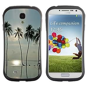 LASTONE PHONE CASE / Suave Silicona Caso Carcasa de Caucho Funda para Samsung Galaxy S4 I9500 / Sea Summer Sun Surf Miami