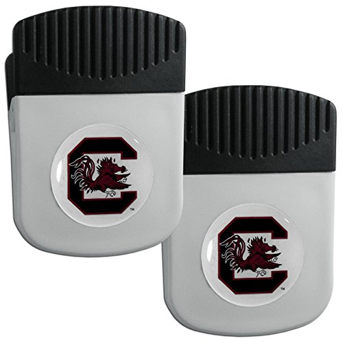 Siskiyou NCAA South Carolina Fighting Gamecocks Clip Magnet with Bottle Opener, 2 Pack
