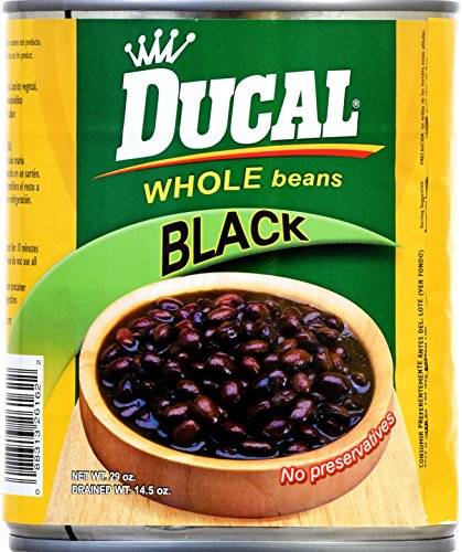 Ducal Whole Black Beans, 29 Ounce (Pack of 12) by Ducal (Image #2)