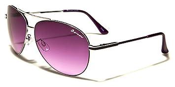 Oxygen Gafas de Sol Aviator - Moda - Fashion - Retro - Vintage - Aviator - Playa - Conducción - Motocicleta - Cyclismo - Kitesurf / Mod. Miami Plata ...