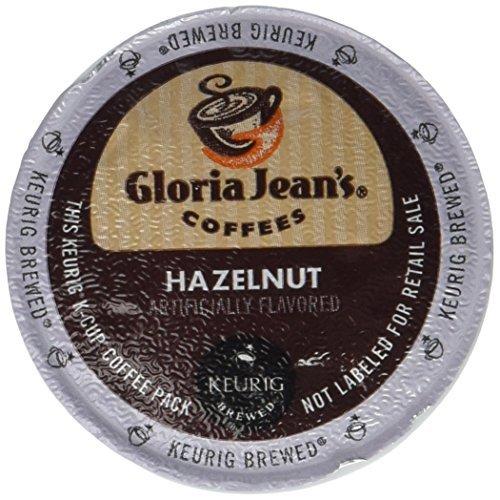 【国内配送】 Gloria Jean's Hazelnut Keurig 2.0 K-Cup Jean's Pack 2.0 48 Count K-Cup [並行輸入品] B07N4MWDL2, ディオス:ea95943b --- leadjob.us