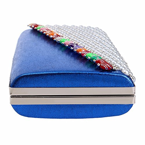 Women's solid color mini heart shaped tassels handbag fashion luxury high end celebrity dresses the bride evening bag clutch bag