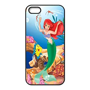 SHENQI The little mermaid Case Cover For iPhone 5S Case