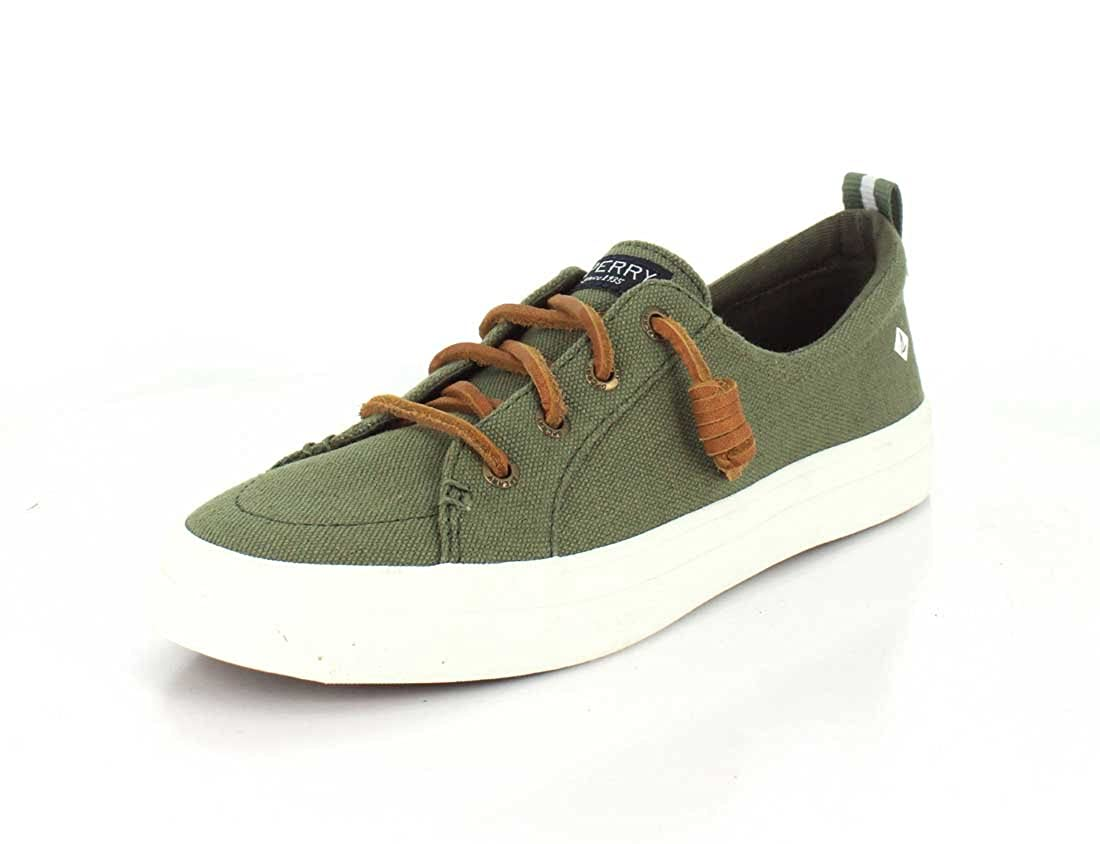 OLIVE Sperry Women's Crest Vibe Linen shoes