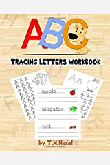 ABC Activity Book: Easy Colouring and Tracing Letters Workbook for Kids!: TRACE LETTERS AGES 3-5 ALPHABET WORKBOOK Paperback