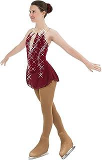 Amazon.com: Vestido de patinaje con figura negra, falda de ...