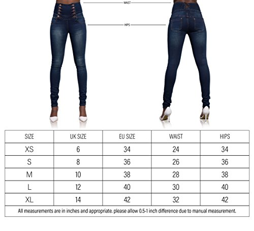 Glook Donna Blue Jeans Donna Navy Jeans Navy Blue Glook Glook Jeans dw8Ad1