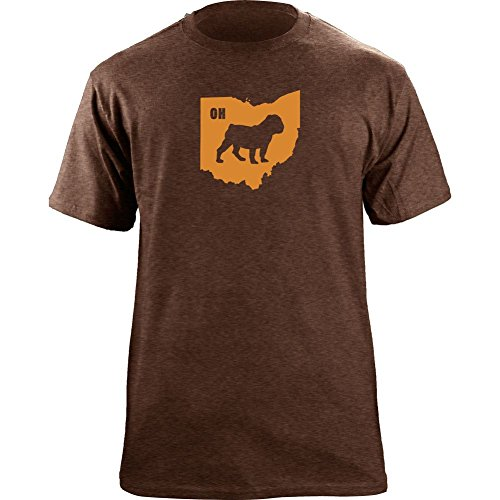 Original Browns I Dawg Ohio State Cleveland T-Shirt (Large, Ultra-Thin Brown) (Cleveland Dawg Pound)
