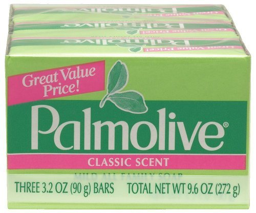 Palmolive Classic Scent Mild All Family Soap. (4 Pack.. 12 bars)... (Palmolive Scented Bar Soap)
