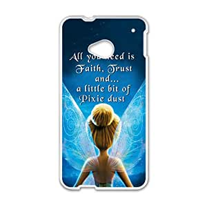 Angel With Wing White HTC M7 case