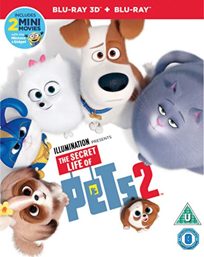The Secret Life of Pets 2 (3-D+Blu-ray) [2019] [Region Free]