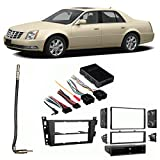 Fits Cadillac DTS 2006-2011 Single/Double DIN Harness Radio Install Dash Kit For Sale