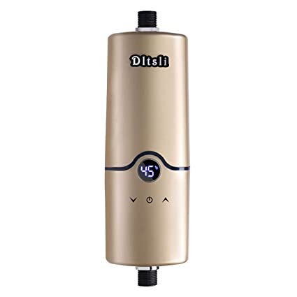 Calentador de agua sin tanque eléctrico instantáneo caliente de 240V 4 niveles de poder 5.5KW