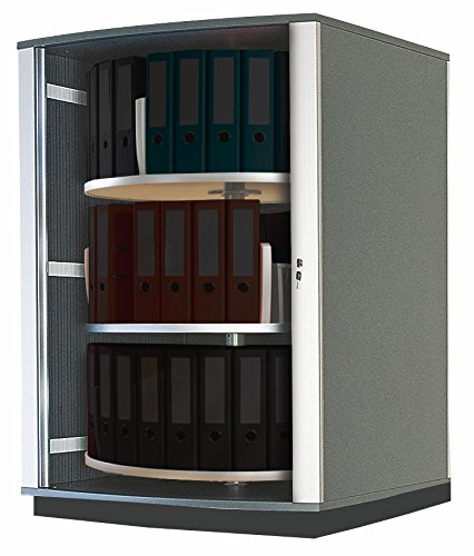 Moll Lockfile Binder & File Carousel Cabinet with Three T...