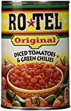 Rotel Original, Tomato & Green Chilies, Diced, 10oz Can (Pack of 4)