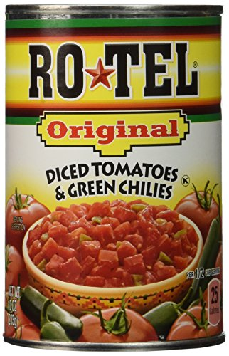 (Ro Tel Original Tomato Diced Green Chili, 10 Ounce, (Pack Of 4))