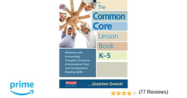 Amazon.com: The Common Core Lesson Book, K-5: Working with ...