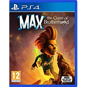Max: The Curse of Brotherhood (PS4) Uk Import