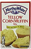 Martha White Yellow Corn Muffin Mix 7.5 Oz (Pack of 6)