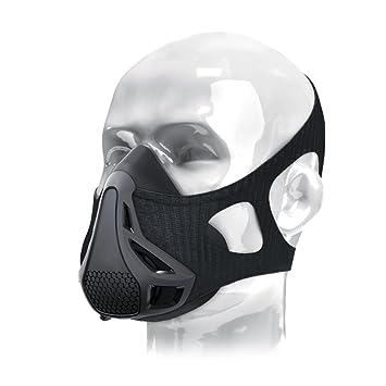 twinkbling Fitness entrenamiento con máscara de 4 nivel altura simulación de oxígeno Control de Respiración,
