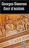 Cour d'assises par Simenon