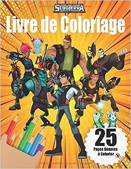 Amazon Fr Slugterra Livre De Coloriage Livre De Coloriage Mignon Pour Les Enfants Et Les Fans Game Happy Livres