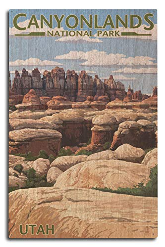 (Lantern Press Canyonlands National Park, Utah (10x15 Wood Wall Sign, Wall Decor Ready to Hang))