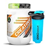 Combo Creatine Monohydrate unflavoured 300g With Omega Shaker