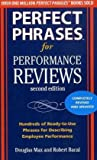 img - for Perfect Phrases for Performance Reviews 2/E (Perfect Phrases Series) By Douglas Max, Robert Bacal book / textbook / text book