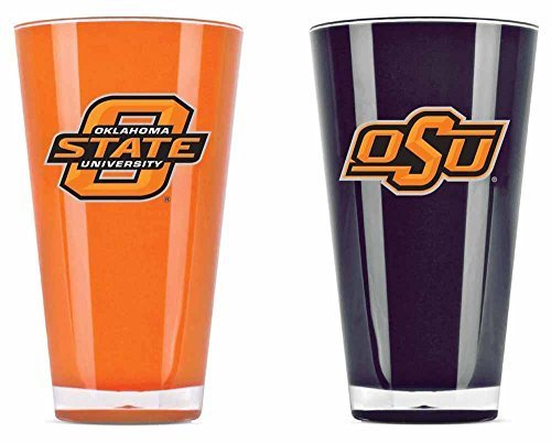Oklahoma State Cowboys Official NCAA 20 fl. oz. Tumbler Cup Set by Duck House by Caseys